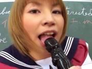 Miku Horikoshi fucked in the classroom